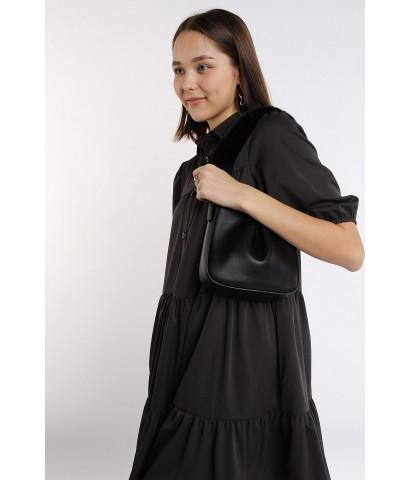 Платье с воланами А силуэта, длина ыше колена