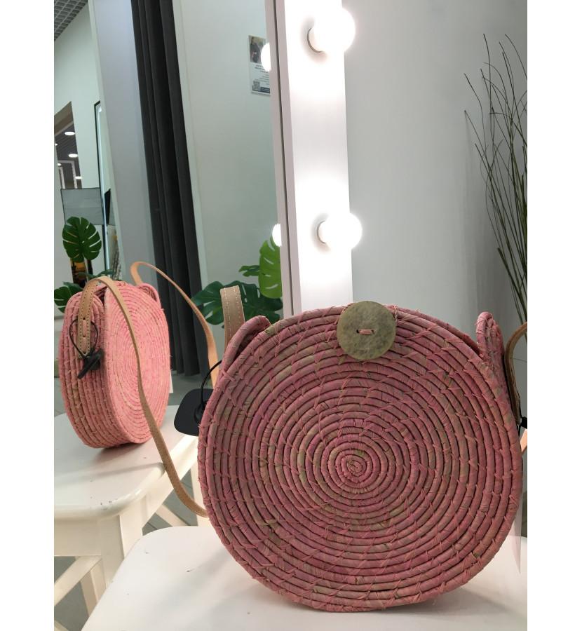 плетеная сумочка