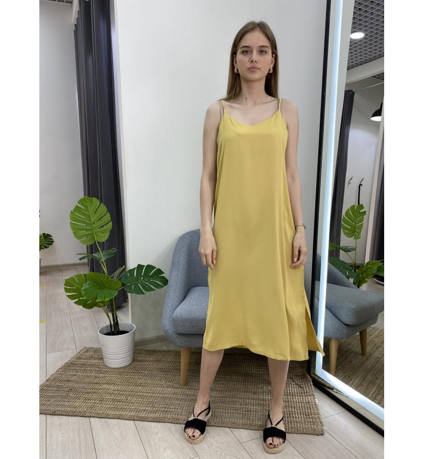 Платье комбинация - миди