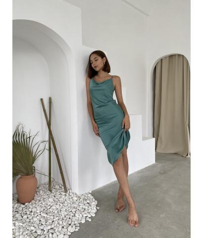 Платье комбинация. длина миди