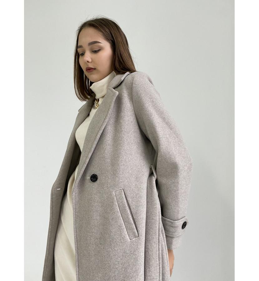 Пальто классического кроя длина миди