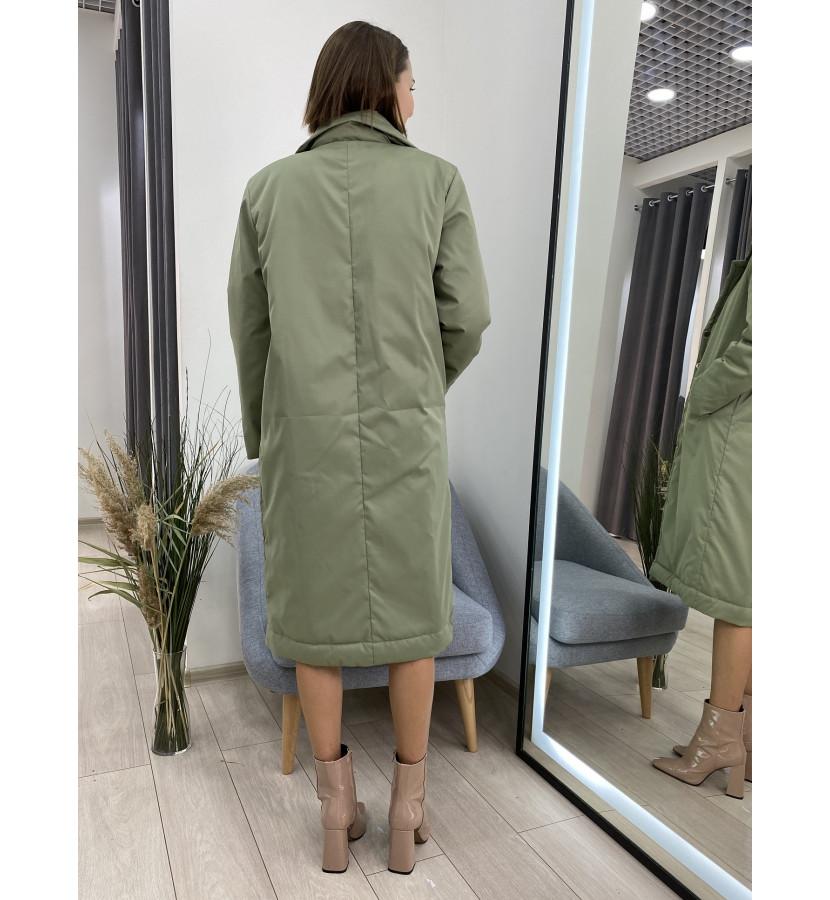 Куртка - пальто на заклепках
