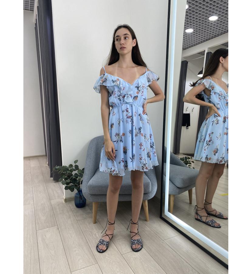 Платье на талии резинка