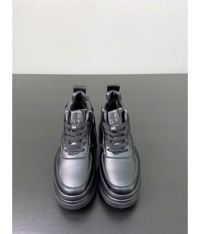 Кроссовки с массивной подошвой, с утиплителем