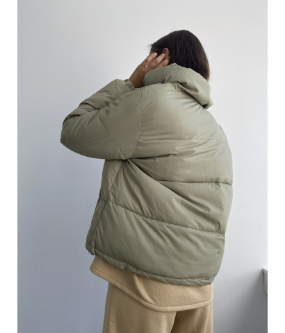 Куртка - зефирка укороченная