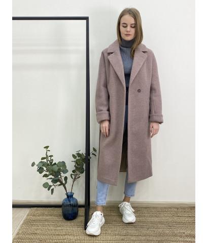 Пальто миди с двумя карманами