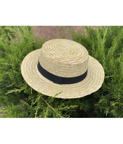 Шляпа с кантом
