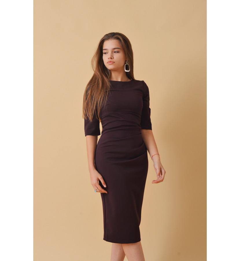 1c3f1a5f7b7a734 Платье - футляр с рукавами 3/4, длина ниже колена купить в Крыму ...